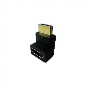 Van Damme HMDI male to female right angle adaptor (up), DVI/HDMI, Аксессуары, Угловой переходник HDMI male-female, up