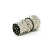Van Damme Metal coaxial plug cable female, RF, Кабельный, Разъем RF female